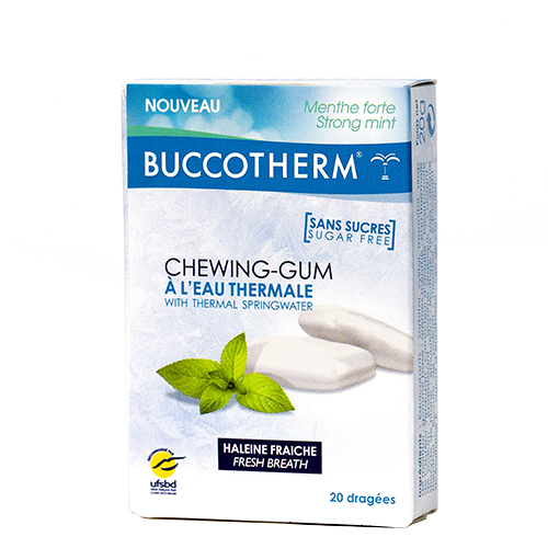 chewing gum eau thermale
