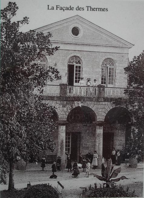 la estación termal de Castéra-Verduzan