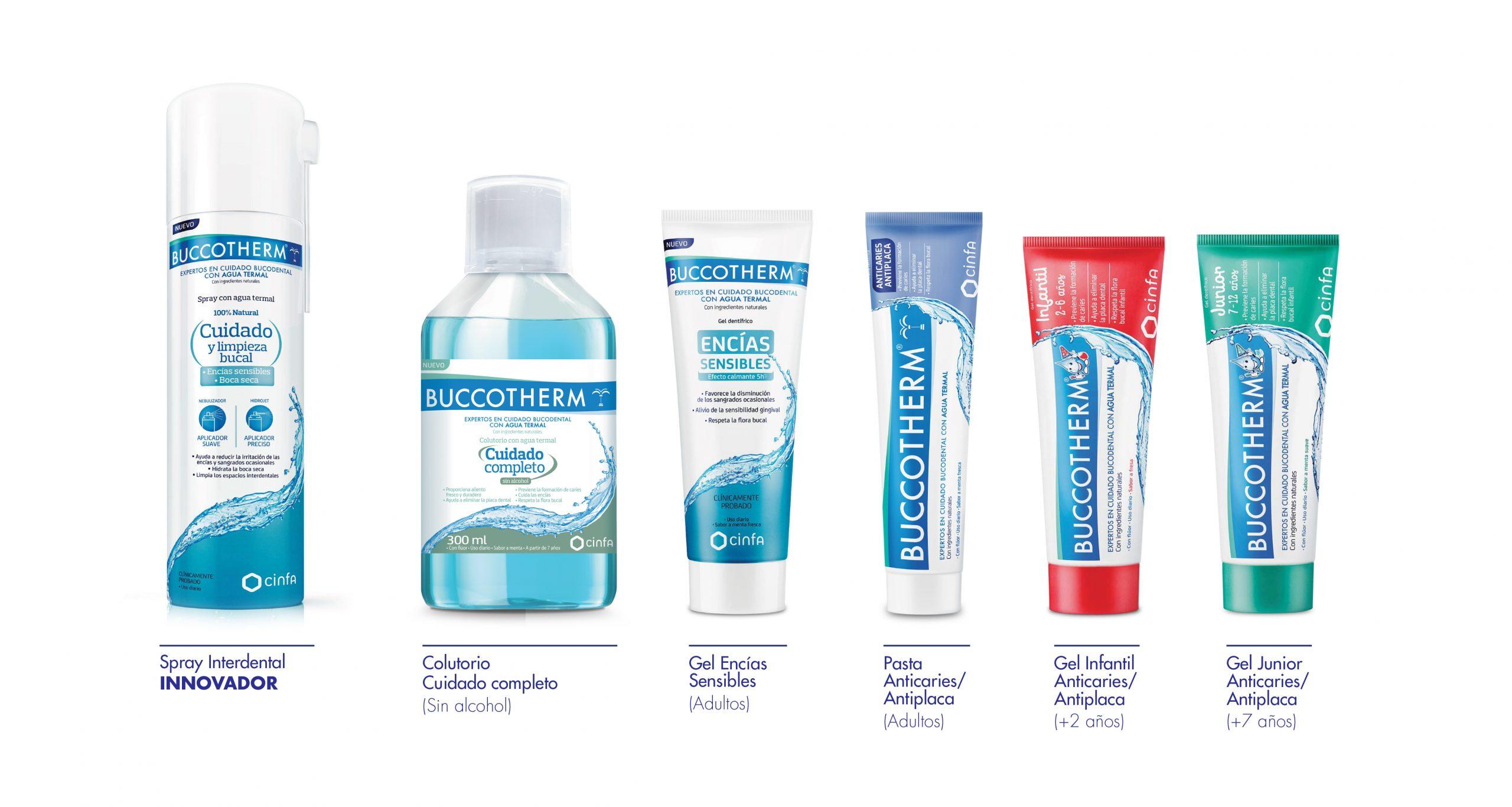 BUCCOTHERM productos seguros eficaces naturales