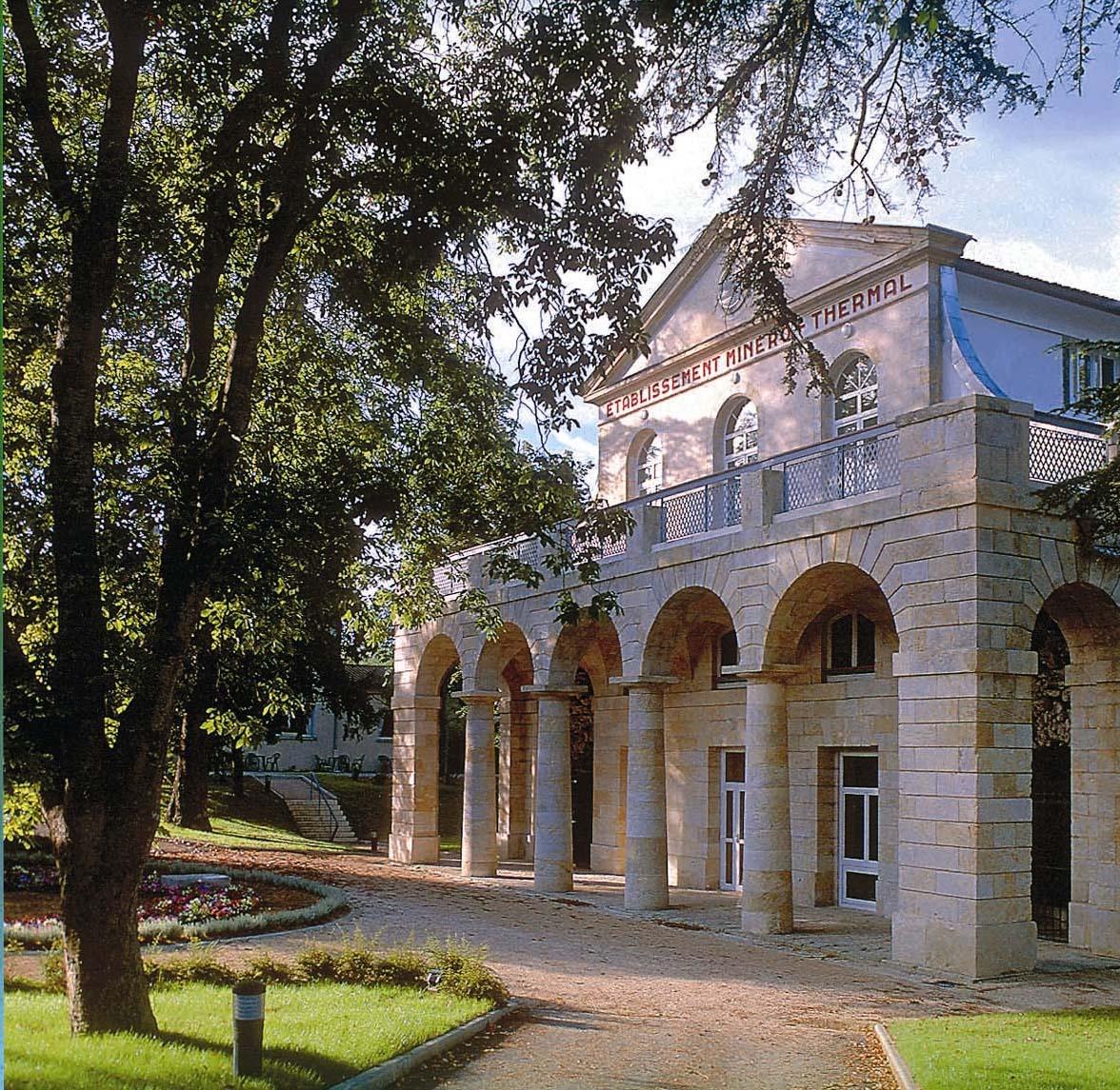 El balneario de Castéra-Verduzan, reconocido desde 1983 y aprobado por el Ministerio de Salud.