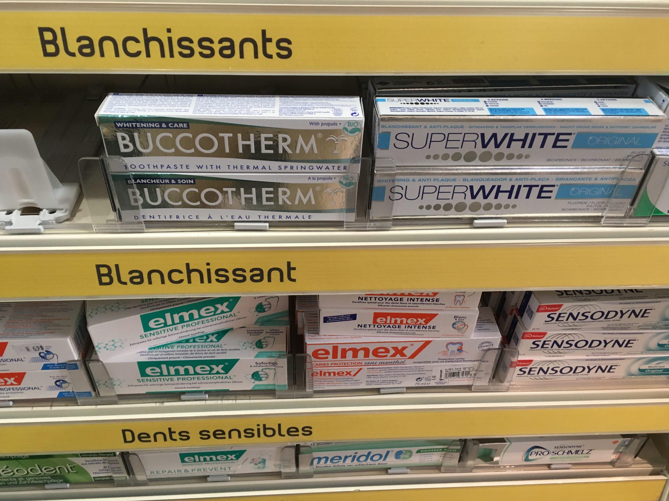 ¡BUCCOTHERM® destacado en una farmacia!