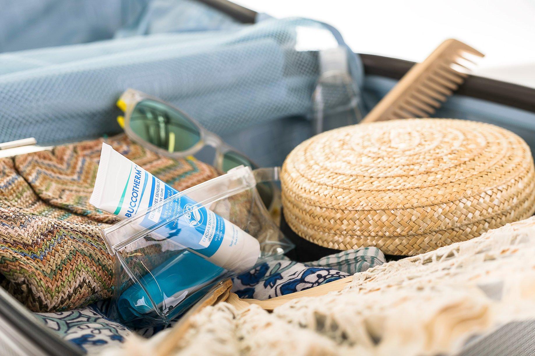 De vacaciones con el kit de viaje BUCCOTHERM®