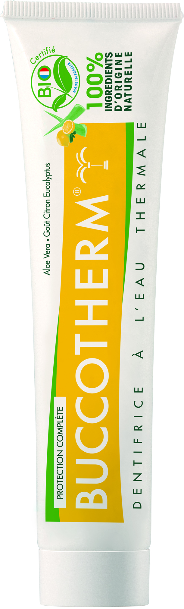 Dentifrice protection complète bio au citron eucalyptus